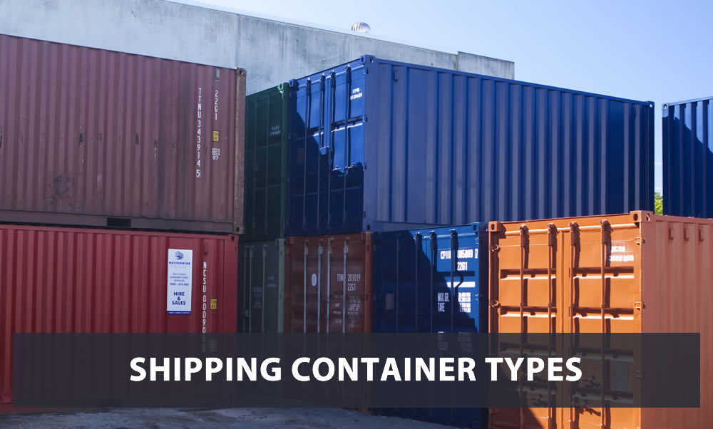 Shipping Container Types