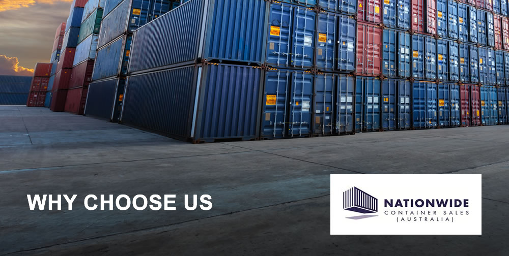 Choose Nationwide Container Sales